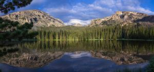 Ouzel Lake in RMNP by Phosus