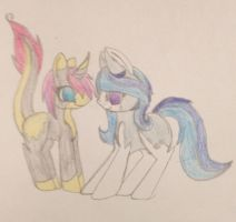 Flash bright and shining Sheild (2 point breedable by Equinoxthealicorn