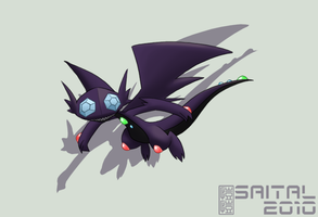Fakemon C.E.: Eboneye by Saital