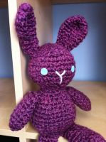 Purple Bunny by MalonB