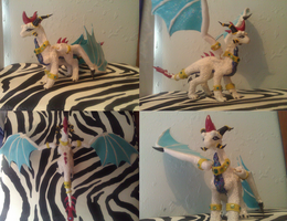 $COM Mini Ethereal Goddess Sculpture by Neffertity