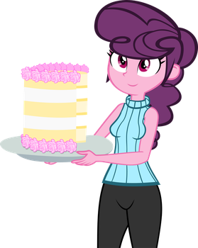 Sugar Belle EQG Style by IronM17