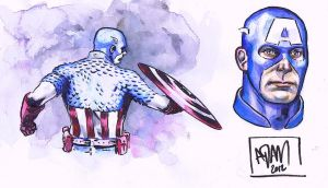 Captain America by ADAMshoots