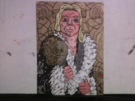 NATURE BOY RIC FLAIR SKETCH CARD by shawncomicart