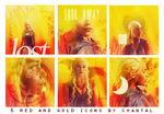 Daenerys Targaryen Icons by ChantiiGG