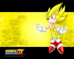 SADX Super Sonic wallpaper by footman