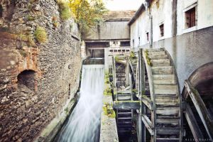 Water Mill in Tata by AlexaBrain