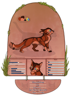 TDE | Russetstorm | WindClan | Warrior by ShadedSorrow