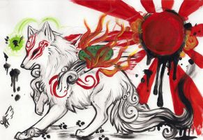 okami3 by AlieTheKitsune
