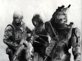 We are the Brothers in Arms by Letholdus