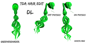 [MMD]- TDA HAIR EDIT#2 [DL] by HinataMew