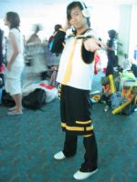 SDCC 09 : Len Cosplayer by Komoko-chan