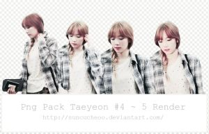 Pack Png Taeyeon SNSD #4 ~ 5 Render by Suncucheoo