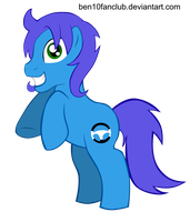 Point Comission-Blue Blitz by CommyPink