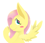 Fluttershy Icon by LatsoArting