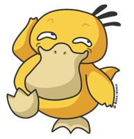 054 Psyduck by reika-world