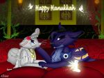Hanukkah Present by QueenDanny