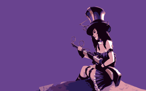 Caitlyn the Sheriff of Piltover by AndresTH3R3D