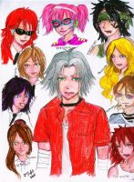 Flames and Family: Gokudera Orchestra by littlemissmarikit