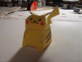 Pikachu papercraft by AUSTINMEADOWS
