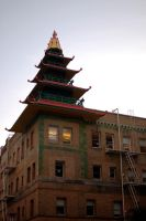 modern pagoda by thevictor2225