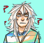 a confused bakura by demiurgicBloodsucker