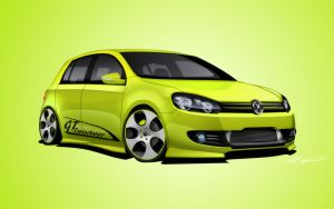 Golf MKVI GT Twincharger by dazza-mate