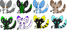 Free Minccino Adopts- CLOSED by sam-speed