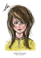 Little girl concept by ThomasBrettRussell