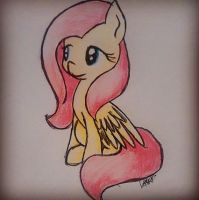 Fluttershy pic. by NyxTheFlyingKatFish