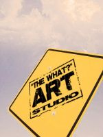 The what art studio singboard by mirul