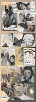 The Burning Woods, p.16-17 by victricia