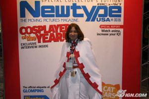 It's me on Newtype by AccessThyme