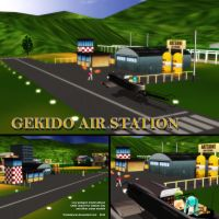 MMD Gekido Air Station by Trackdancer