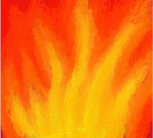 Impressionist Flame by spacecats13