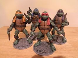 TMNT Custom 1990 movie figures by JodyBriggs