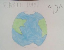 Happy Earth Day! ^D^ by CleverSketch