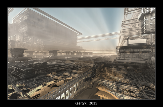 Another World XXIX . The Factory by Kaeltyk