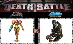 Death Battle Samus vs Isaac by Werewolf-Hero