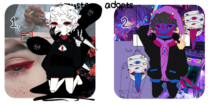 Aesthetic Mystery Adopts // (Closed // Reveal)) by eggyboii