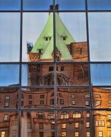 Hotel Reflection by AgilePhotography