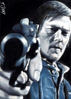 Daryl Dixon-Sorry Brother-Norman Reedus by Dr-Horrible