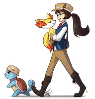 Pokemon: TO KALOS! by ky-nim