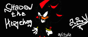 Shadow the Hedgehog by alishadowriter