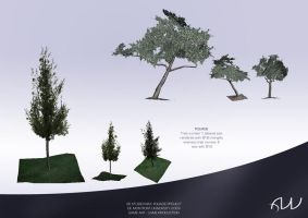 3D trees by Tysho