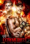 WWE Extreme Rules poster by workoutf