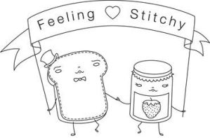 Toast and Jam embroidery pattern by River-Roane