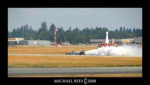 Air Force Jet Car Smoking by Luv2suspendyou