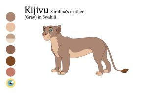 Kijivu sarafina's mother by Mydlasfanart