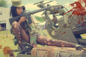 Military Pin-up #11 by Buckland-Fly84